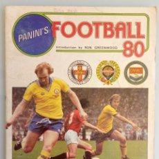 Coleccionismo deportivo: ALBUM PANINI. - FOOTBALL 80 - #. Lote 166100310