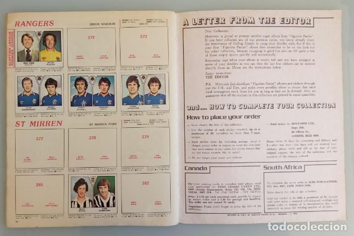 Coleccionismo deportivo: ALBUM PANINI. - FOOTBALL 80 - # - Foto 5 - 166100310