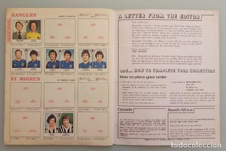 Coleccionismo deportivo: ALBUM PANINI. - FOOTBALL 80 - # - Foto 6 - 166100310