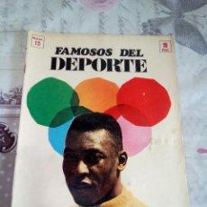Coleccionismo deportivo: FAMOSOS DEL DEPORTE PELE. Lote 166268696