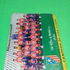 Coleccionismo deportivo: SÚPER DINÁMICO CALENDARIO DE FÚTBOL AÑO 1996/1997. Lote 166420221