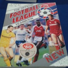 Coleccionismo deportivo: LIBRO TOP MAN ( THE OFFICIAL FOOTBALL LEAGUE YEARBOOK ) 256 PAGINAS NEW TRIRD EDITION. Lote 166709562