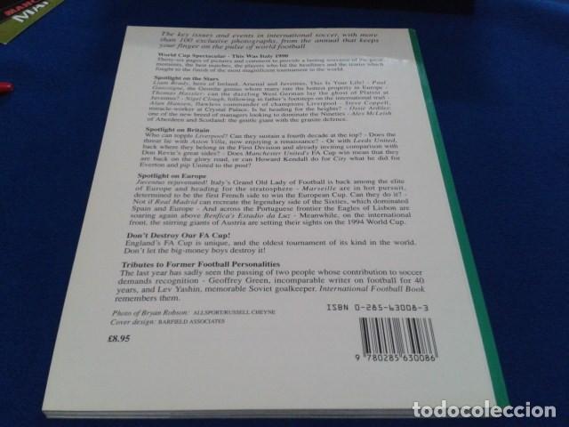 Coleccionismo deportivo: LIBRO ( INTERNACIONAL FOOTBALL BOOK Nº 32 )1990 SPECIAL GUIDE BY HALLAM GORDON 128 PAGINAS NUEVO - Foto 3 - 166713178