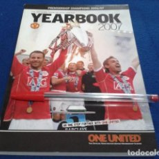 Coleccionismo deportivo: LIBRO MANCHESTER UNITED ( THE OFFICIAL YEARBOOK 2007 ) PREMIERSHIP CHAMPIONS 2006/07 . Lote 166716918