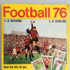 Coleccionismo deportivo: ALBUM PANINI. - FOOTBALL 76 - #. Lote 167547016