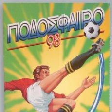 Coleccionismo deportivo: ALBUM PANINI. - PODOSFOIRO 98 - #. Lote 167549080