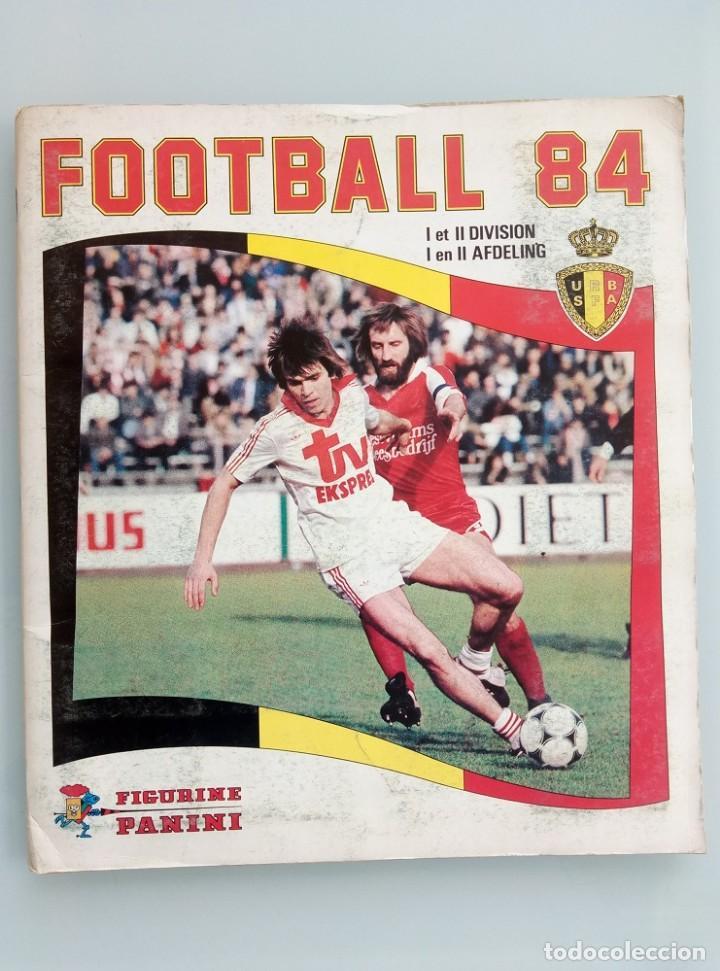 ALBUM PANINI. - FOOTBALL 84 - # (Coleccionismo Deportivo - Libros de Fútbol)