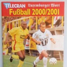 Coleccionismo deportivo: TELECRAN - FUSSBALL 2000/2001. #. Lote 167728636