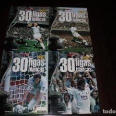Coleccionismo deportivo: COLECCIÓN DE LIBROS DE VARIAS LIGAS DEL REAL MADRID. Lote 168351936