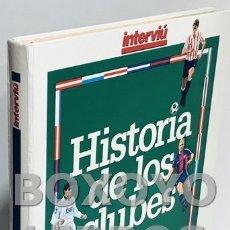Coleccionismo deportivo: HISTORIA DE LOS CLUBES DE PRIMERA DIVISIÓN 94-95. Lote 168462574