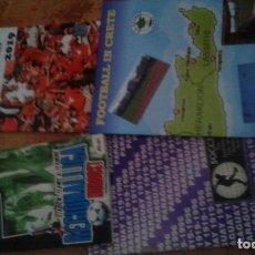Coleccionismo deportivo: FOOTBALL IN CRETA Y 3 LIBROS DE REGALO. Lote 168748664