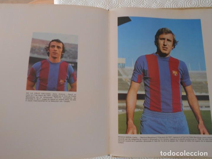 Coleccionismo deportivo: BARÇA, BARÇA, BARÇA. HISTORIA DEL C. DE F. BARCELONA. TEXTOS, GUION Y DIRECCION. JAIME RAMON PERO. E - Foto 4 - 169088968