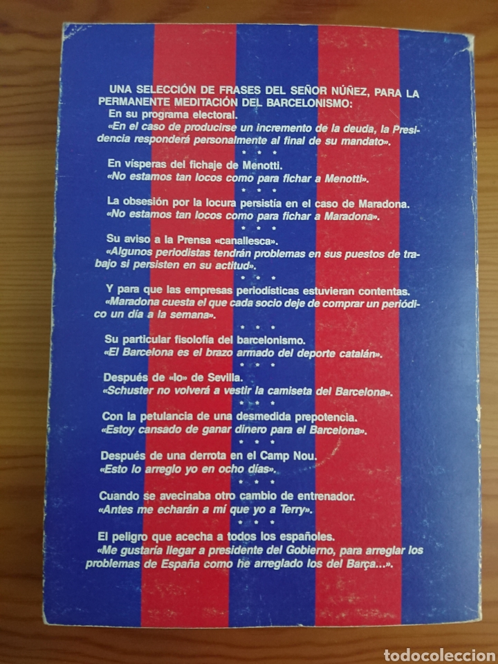 Coleccionismo deportivo: UN BARÇA TRIOMFANT? MORERA FALCO, LIBRO SOBRE FC BARCELONA - Foto 6 - 169107136