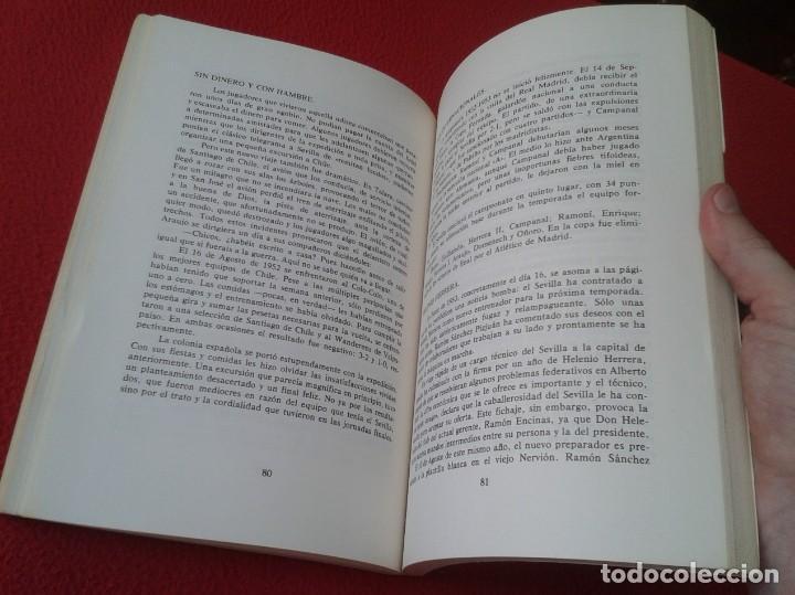 Coleccionismo deportivo: ANTIGUO LIBRO SEVILLA FÚTBOL CLUB 75 AÑOS DE HISTORIA 1905-1980 ESPAÑA LA LIGA FOOTBALL SOCCER SPAIN - Foto 11 - 169588704
