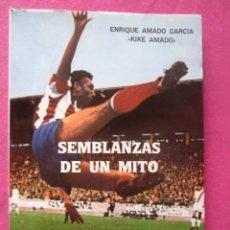 Coleccionismo deportivo: QUINI SEMBLANZAS DE UN MITO MUCHA FOTOGRAFIA KIKE AMADO. Lote 169755124