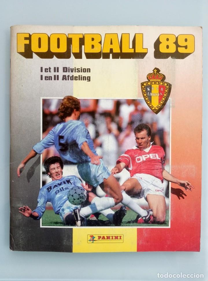 ALBUM PANINI. - FOOTBALL 89 - # (Coleccionismo Deportivo - Libros de Fútbol)