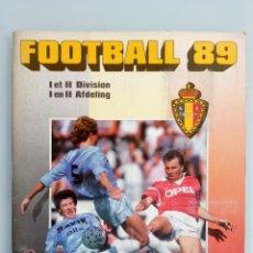 Coleccionismo deportivo: ALBUM PANINI. - FOOTBALL 89 - #. Lote 169793200