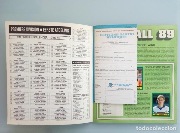 Coleccionismo deportivo: ALBUM PANINI. - FOOTBALL 89 - # - Foto 3 - 169793200