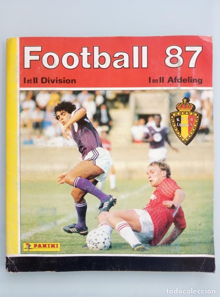 ALBUM PANINI. - FOOTBALL 87 - # (Coleccionismo Deportivo - Libros de Fútbol)