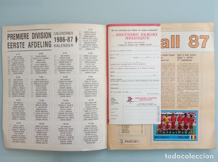 Coleccionismo deportivo: ALBUM PANINI. - FOOTBALL 87 - # - Foto 3 - 169793940