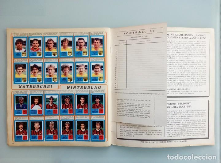 Coleccionismo deportivo: ALBUM PANINI. - FOOTBALL 87 - # - Foto 7 - 169793940