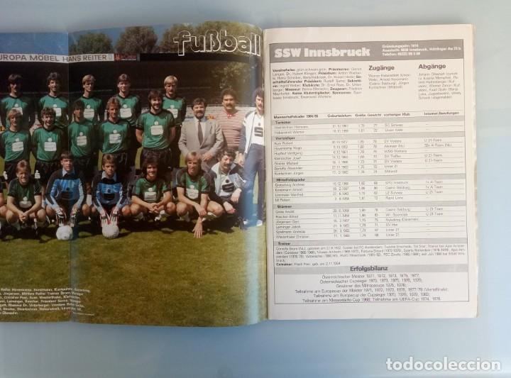 Coleccionismo deportivo: FUSSBALL ÖSTERREICHISHER. - DIE BUNDESLIGA SAISON 84/85 - # - Foto 3 - 169812396