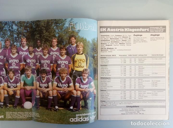 Coleccionismo deportivo: FUSSBALL ÖSTERREICHISHER. - DIE BUNDESLIGA SAISON 84/85 - # - Foto 6 - 169812396