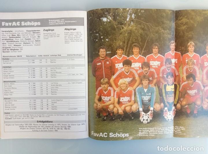 Coleccionismo deportivo: FUSSBALL ÖSTERREICHISHER. - DIE BUNDESLIGA SAISON 84/85 - # - Foto 7 - 169812396