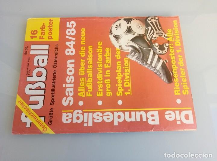 Coleccionismo deportivo: FUSSBALL ÖSTERREICHISHER. - DIE BUNDESLIGA SAISON 84/85 - # - Foto 8 - 169812396
