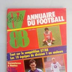 Coleccionismo deportivo: VOETBAL MAGAZINE. - VOETBALGIDS 87-88 - #. Lote 169812704