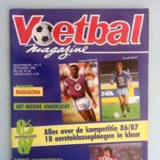 Coleccionismo deportivo: VOETBAL MAGAZINE. - VOETBALGIDS 86-87 - #. Lote 169813044