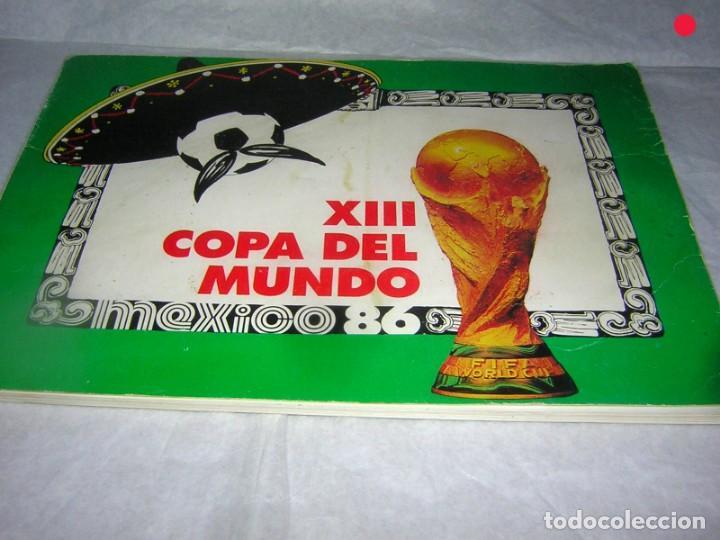 LIBRO ÁLBUM DEL MUNDIAL DE MEJICO (Coleccionismo Deportivo - Libros de Fútbol)