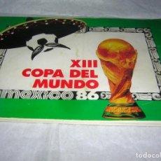 Coleccionismo deportivo: LIBRO ÁLBUM DEL MUNDIAL DE MEJICO. Lote 169939764
