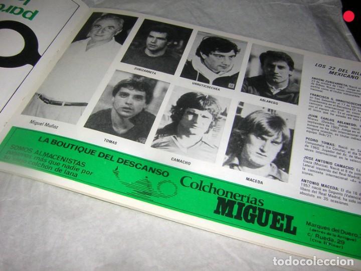 Coleccionismo deportivo: LIBRO ÁLBUM DEL MUNDIAL DE MEJICO - Foto 2 - 169939764