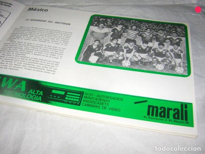 Coleccionismo deportivo: LIBRO ÁLBUM DEL MUNDIAL DE MEJICO - Foto 3 - 169939764