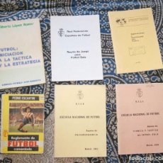 Coleccionismo deportivo: LOTE 10 LIBROS DE FÚTBOL. Lote 170008176