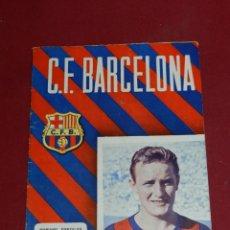 Coleccionismo deportivo: (M) PROGRAMA CF BARCELONA 16 JUNIO 1956 N.62 PARTIDO INTERNACIONAL CF BARCELONA - FSV FRANKFURT. Lote 170097900