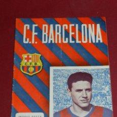 Coleccionismo deportivo: (M) PROGRAMA CF BARCELONA 26 NOVIEMBRE 1955 N.49 PARTIDO INTERNACIONAL CF BARCELONA - AIK ATENAS. Lote 170098056