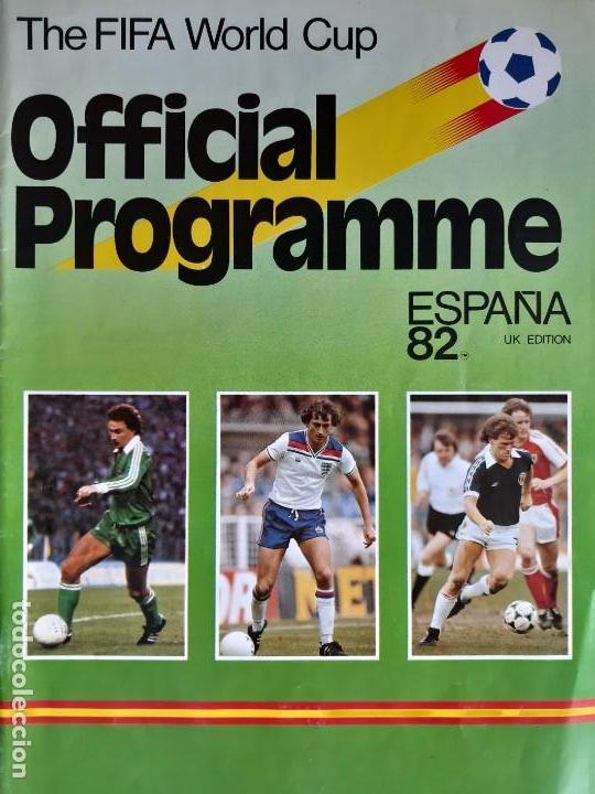 GUÍA DEL MUNDIAL DE ESPAÑA 1982. FIRMADA POR BRUNO CONTI (Coleccionismo Deportivo - Libros de Fútbol)