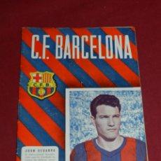 Coleccionismo deportivo: (M) PROGRAMA CF BARCELONA 17 DICIEMBRE 1955 N.50 PARTIDO CF BARCELONA - ATH BILBAO. Lote 170954018