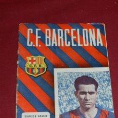 Coleccionismo deportivo: (M) PROGRAMA CF BARCELONA 19 NOVIEMBRE 1955 N.48 PARTIDO CF BARCELONA - VALENCIA FC. Lote 170954069