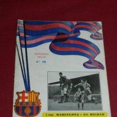 Coleccionismo deportivo: (M) PROGRAMA CF BARCELONA 3 MAYO 1952 - 53 N.16 PARTIDO CF BARCELONA - ATH BILBAO. Lote 170954584