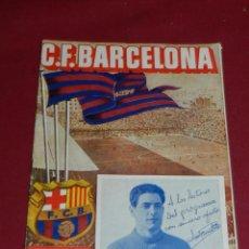 Colecionismo desportivo: (M) PROGRAMA CF BARCELONA 30 SEPTIEMBRE 1951 PARTIDO CF BARCELONA - VALENCIA FC. Lote 170954643