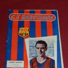 Coleccionismo deportivo: (M) PROGRAMA CF BARCELONA 23 FEBRERO 1957 N.76 PARTIDO CF BARCELONA - VALENCIA FC. Lote 170954814