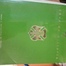 Colecionismo desportivo: ESTUPENDO LIBRO POR JUAN J. ARENCIBIA DE TORRES-CD TENERIFE.75 AÑOS DE HISTORIA.1997.. Lote 171166064