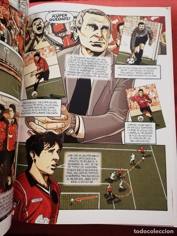 Coleccionismo deportivo: RCD MALLORCA. 16 AÑOS DE PRIMERA (DAVID J. NADAL / JOAN FUSTER) DOLMEN EDITORIAL - Foto 5 - 171506314