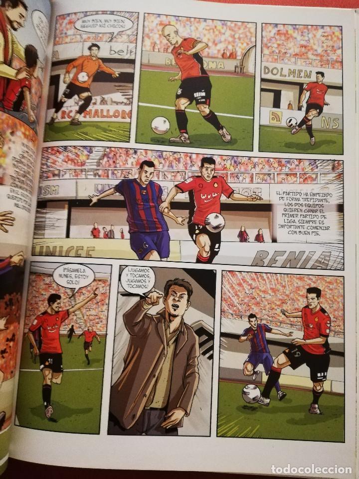 Coleccionismo deportivo: RCD MALLORCA. 16 AÑOS DE PRIMERA (DAVID J. NADAL / JOAN FUSTER) DOLMEN EDITORIAL - Foto 6 - 171506314