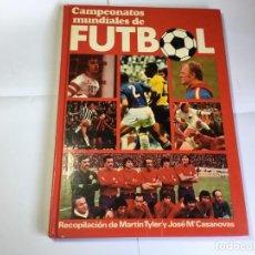 Coleccionismo deportivo: LIBRO CAMPEONATOS MUNDIALES DE FUTBOL - CAJA DE AHORROS DE ALICANTE Y MURCIA. Lote 171996945