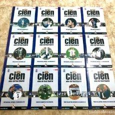 Coleccionismo deportivo: CIEN AÑOS DEL REAL MADRID: LIBROS 1 AL 11. DIARIO AS, 2001 + REGALO. Lote 172187623