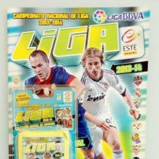 Coleccionismo deportivo: ALBUM PANINI. - LIGA 2013-14. - ALBUM + BLISTER X 10 BAGS - #. Lote 172335384